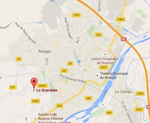 Le Scarabée Roanne-Riorges